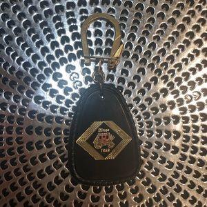 Vintage Wells Fargo keychain
